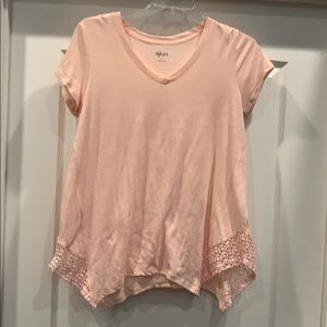 Style & co pink tee